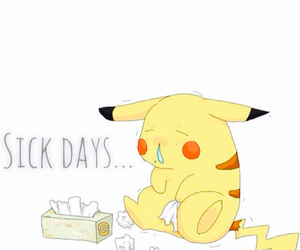 dying, pikachu, and tissues image