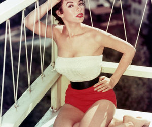 pin up girl, pinup, and swim suit image