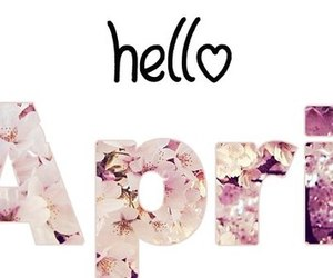 april, hello, and hello april image