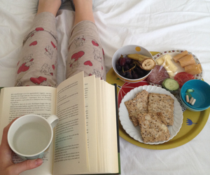 book, cozy, and breakfast image