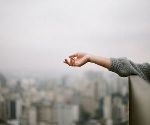 hand, photography, and city image
