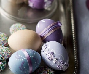 decoration, violet, and easter image