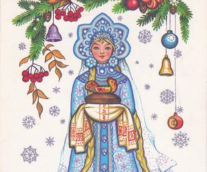 art, christmas, and colours image