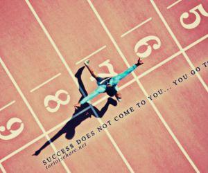 run, running, and quote image