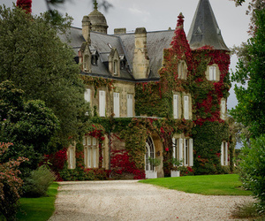 house, castle, and mansion image
