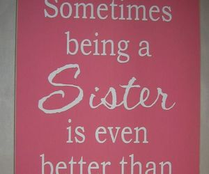 quote and sister image