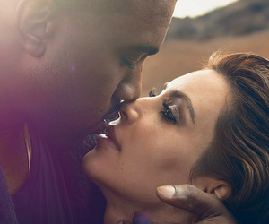 love, kim kardashian, and kanye west image