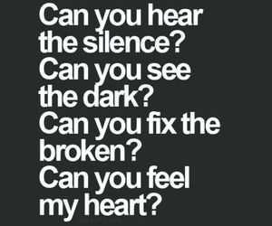 quote, love, and silence image