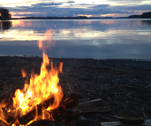 finland, nofilter, and fire image