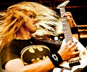 batman, guitar, and hair image