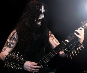 black, Black Metal, and goth image