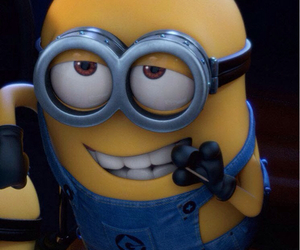 class, funny, and minion image