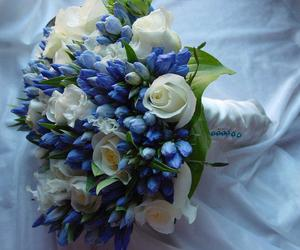 bouquet, flowers, and flores image