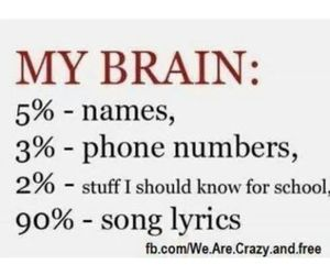 school, Lyrics, and names image
