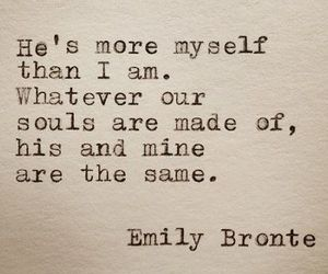 love, quote, and emily bronte image