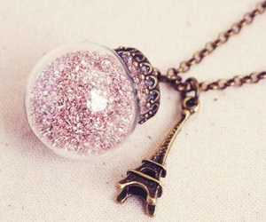 necklace, paris, and jewelry image