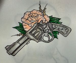 drawing, rose, and drawing idea image