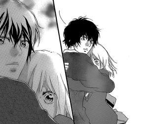 hug, manga, and romance image