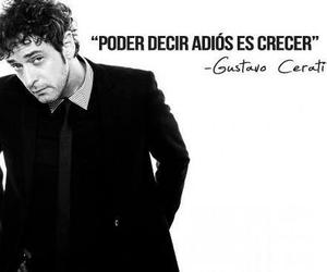 gustavo cerati, frases, and bye image