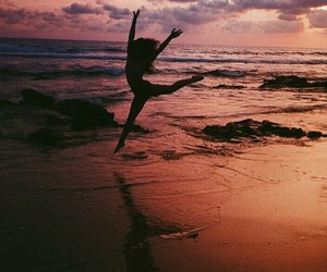 adventure, beach, and dance image