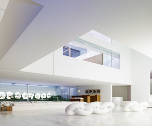 urban style, color contrast, and villa. image