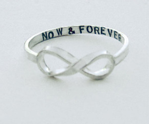 forever, ring, and love image