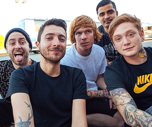 bring me the horizon, issues, and of mice & men image