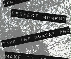 background, black and white, and quotes image