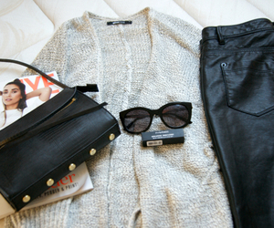 bag, blogger, and cardigan image