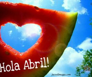 april, hello, and abril image