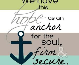 anchor, jesus christ, and soul image