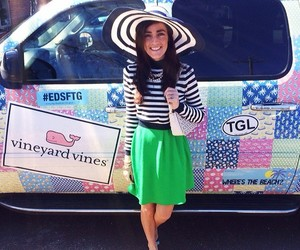 preppy, vineyard vines, and sarah vickers image