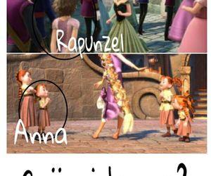 anna, frozen, and rapunzel image