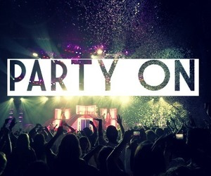 party, fun, and party on image
