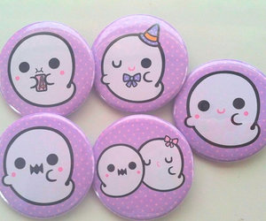 ghost, pastel goth, and cute image