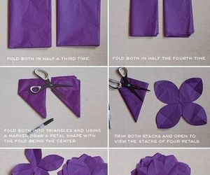 diy, gift, and flower image