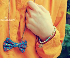 bow, hijab fashion, and diy image