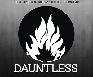 divergent, dauntless, and factions image