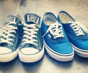 shoes, vans, and allstars image
