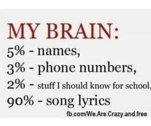 school, Lyrics, and names image