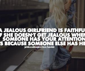 girlfriend and jealous image