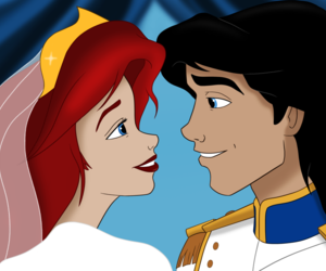 ariel, disney, and disney princess image