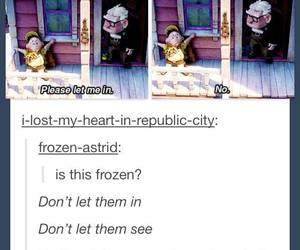disney, let it go, and up image