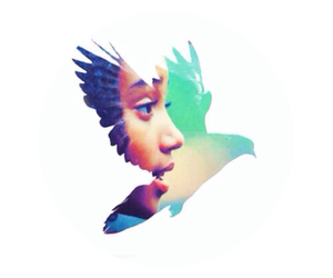 rue, hunger games, and mockingjay image