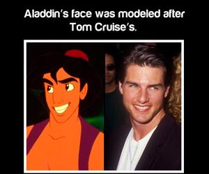 fact, aladdin, and Tom Cruise image