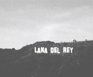 lana del rey and hollywood image