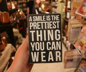smile, quote, and pretty image