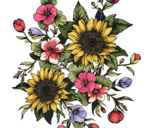 flowers, png, and transparent image