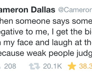tweet, magcon family, and twitter image
