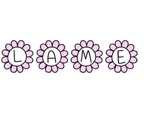 flowers, lame, and overlay image